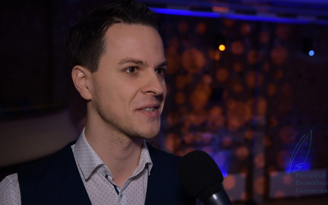 Journalistenpreis 2019: Gewinner Yannick Lowin im Video-Interview