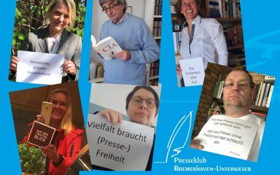 3. Mai Internationaler Tag der Pressefreiheit